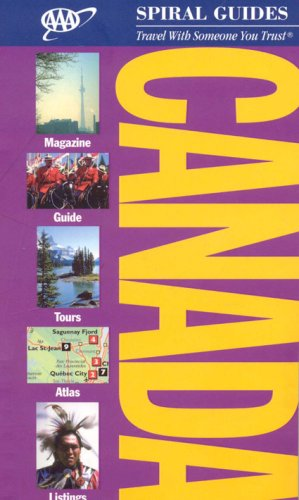 Download AAA Spiral Canada (AAA Spiral Guides) pdf epub