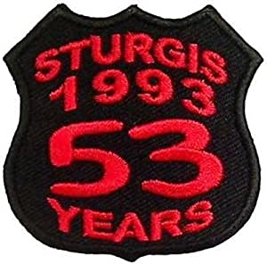 Amazon.com: STURGIS BIKE WEEK Rally 1993 53 YEARS ...