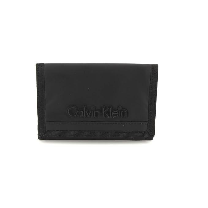 Calvin Klein Jeans K50k501086 - Cartera para hombre negro 10 cm: Amazon.es: Ropa y accesorios