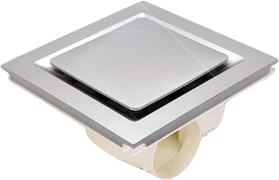 ASYCHEN Extractor de ventilación montado Techo de baño Extractor Ventiladores silenciosos Ventilador de ventilación del hogar Ventilador, Aseo 300x300mm for la Cocina