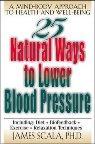 Download 25 Natural Ways To Lower Blood Pressure pdf epub