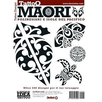 f380539ec Amazon.com : MAORI Polynesian Pacific Island Tribal Illustration / Tattoo  Flash Book Books / Tattoo Flash Art : Beauty