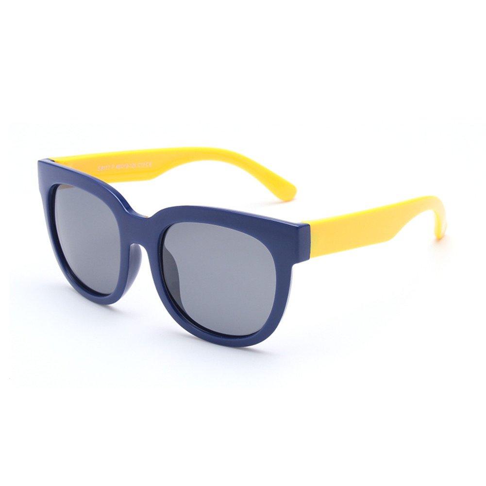 Gafas De Sol Polarizadas Clásicas para Niños Material De Silicona, Seguro Y Protegido - Protección UV400 Unisex,1: Amazon.es: Deportes y aire libre