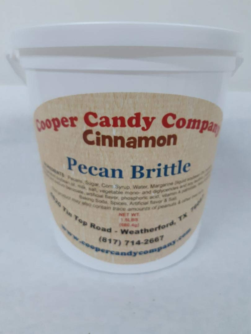 Cooper Candy Company Cinnamon Pecan Brittle by Cooper Candy Company