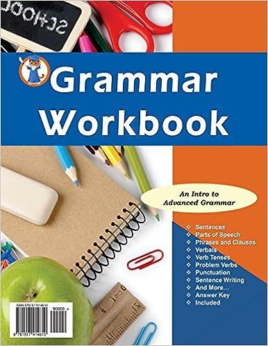 Amazon.com: Grammar Workbook: Grammar Grades 7-8 (9781517414610 ...