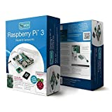 Raspberry Pi 3 Model B Camera Kit with Case, Power Supply, Operating System and HD Camera