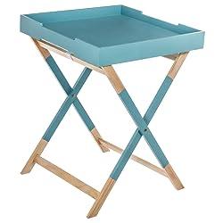 Tavolino da caffè con vassoio - Stile scandinavo - Colore: BLU