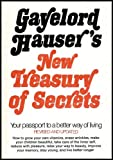 img - for Gayelord Hauser's New Treasury of Secrets: Your Passport to a Better Way of Living (American Nutritionist Who Cosmopolitan Magazine Says Started the