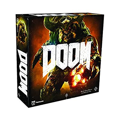 Doom: The Board Game Second Edition: Toys & Games [5Bkhe1004699]