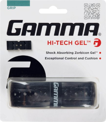 Gamma Hi-Tech Gel Replacement Grip, Black