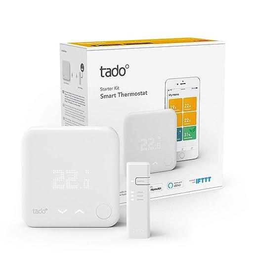 Tado 4.26033E+12 Termostato Inteligente, Blanco: Amazon.es: Bricolaje y herramientas