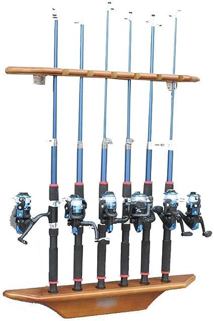 LJALJJ Almacenamiento de cañas de Pescar de 2 Piezas 6