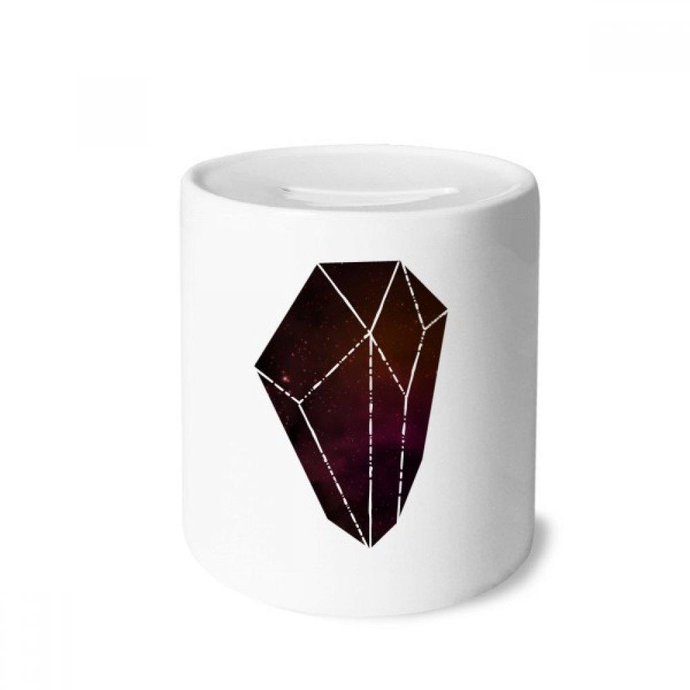 DIYthinker Crystal Universo de Star Cielo de la fantasía Caja de Dinero de Las Cajas de ahorros de cerámica Adultos Moneda de la Caja para niños