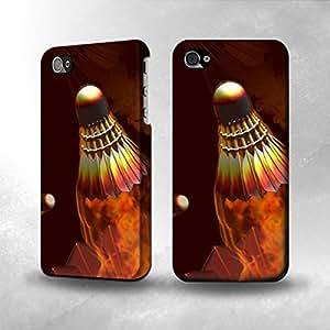 Apple iPhone 5 / 5S Case - The Best 3D Full Wrap iPhone Case - Badmintons