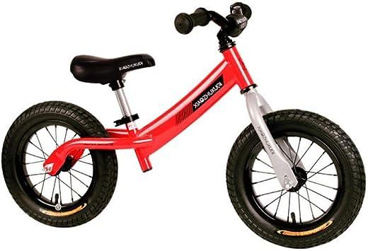Balance Bike Bicicleta Resistente for 2-5 Años Sin Pedal Empujar y Andar Bicicleta for Caminar Primera Bicicleta Regalo de Cumpleaños de Navidad (Color : Red) : Amazon.es: Juguetes y juegos