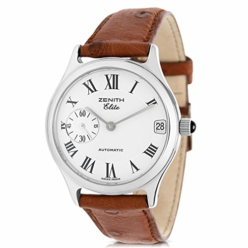 Zenith Elite 90/01 0050 Women's Watch in Stainless Steel (Certified Pre-Owned)