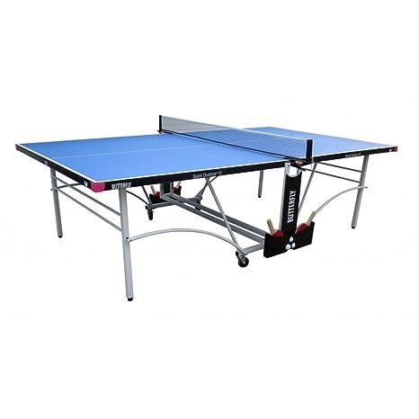 Butterfly Mariposa Mesa de Ping Pong Match Jugando espíritu 12 ...