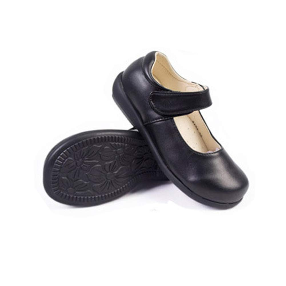 Girls Flat Mary Jane Oxford Shoe Leather Bows Soft Round Toe Princess Dress Shoes Toddler//Little Kid//Big Kid