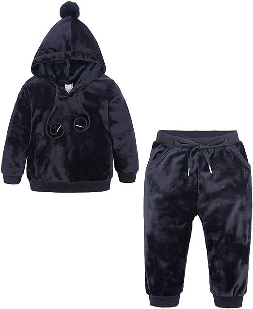 Sweatpants 2Pcs Toddler Kid Baby Girls Long Sleeve Outfits Set Sweatshirt Tops