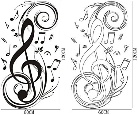 Details about  /3D Musical Note Violin R6 Business Wallpaper Wall Mural Self-adhesive Commerce Z