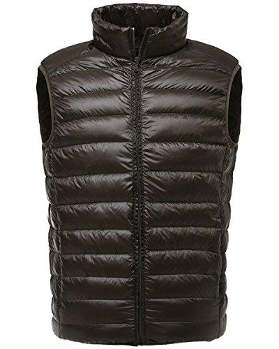 Goose Down Puffer Vest - 1