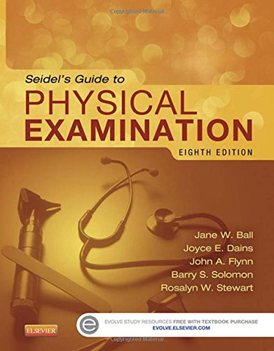 323112404 - Seidel's Guide to Physical Examination, 8e (Mosby's Guide to Physical Examination)
