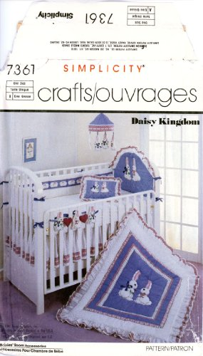 simplicity-7361-sewing-pattern-daisy-kingdom-babies-room-accessories