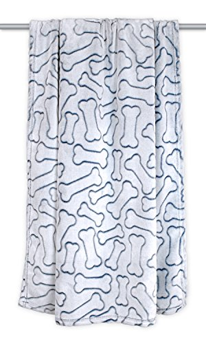DII Bone Dry Microfiber Pet Blanket for Dogs and Cats, 36x48