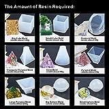 9 Pack Large Resin Casting Molds LET'S RESIN