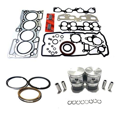 (Diamond Power Full Gasket Set Piston & Ring works with Nissan Altima Sentra 2.5 L QR25DE )