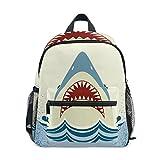 GIOVANIOR Shark Jaws Travel School Backpack for Boys Girls Kids