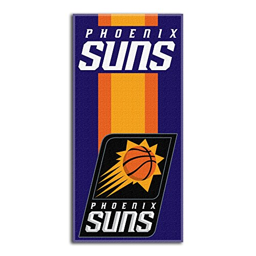 fan products of Northwest NBA Phoenix Suns Beach Towel, 30 X 60 Inches