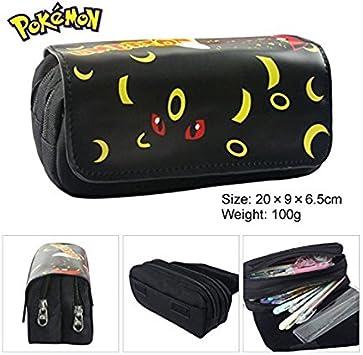 Kids Craze Reino Unido Umbreon Pokemon estuche dos compartimentos: Amazon.es: Oficina y papelería