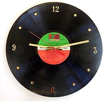 Amazon Com Led Zeppelin Vinyl Record Clock I Ii Iii Or