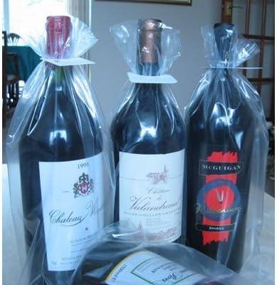 Botella de vino Magnum bodega mangas x 100: Amazon.es: Hogar