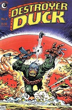- Destroyer Duck, Edition# 5