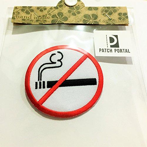 Patch Portal No Smoking Sign Car 3