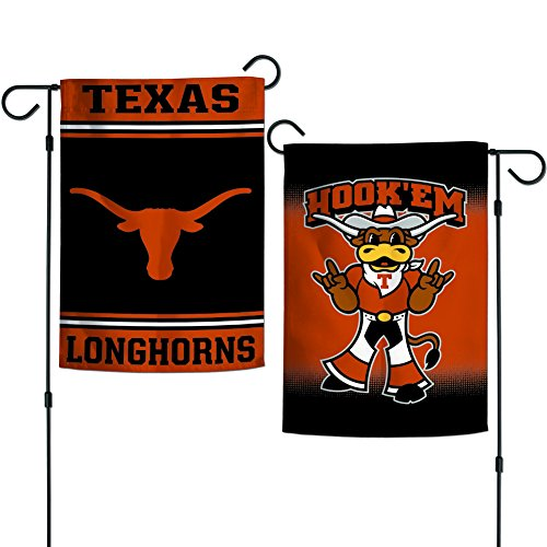 Elite Fan Shop Texas Longhorns Garden Flag 12.5