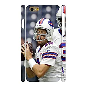 Designed Hipster Phone Accessories Print Football Athlete Action Pattern Skin for Iphone 6 Case - 4.7 Inch