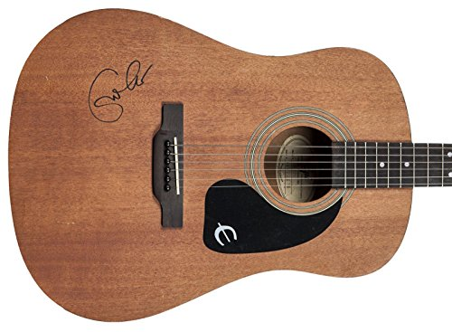 - Eric Clapton Signed Epiphone Acoustic Guitar #Z01737 - PSA/DNA Certified