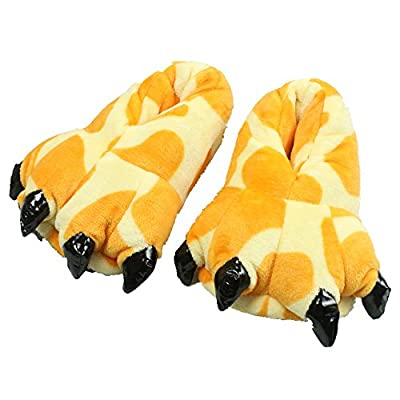 MizHome Unisex Soft Paw Claw Home Slippers Animal Costume Shoes
