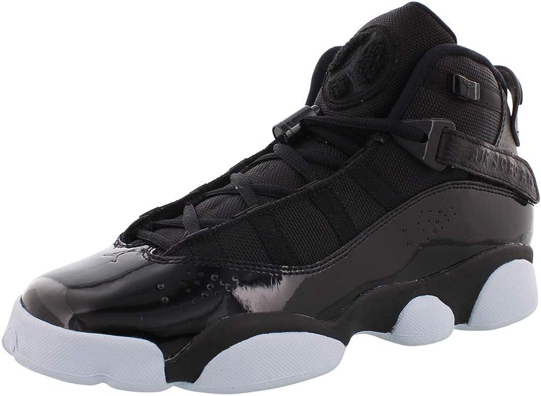 Boys' Jordan 6 Rings - 323419-011 Black