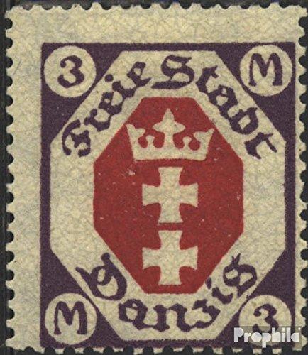 Prophila Collection Danzig 86 1921 Freimarken (Briefmarken für Sammler)