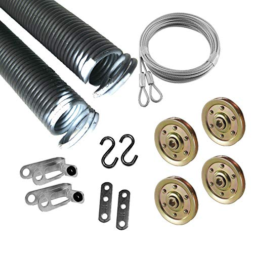 - Garage Door Extension Spring for 7' High Door, 110 Pounds 25 42 110 Coded White ( Pair )