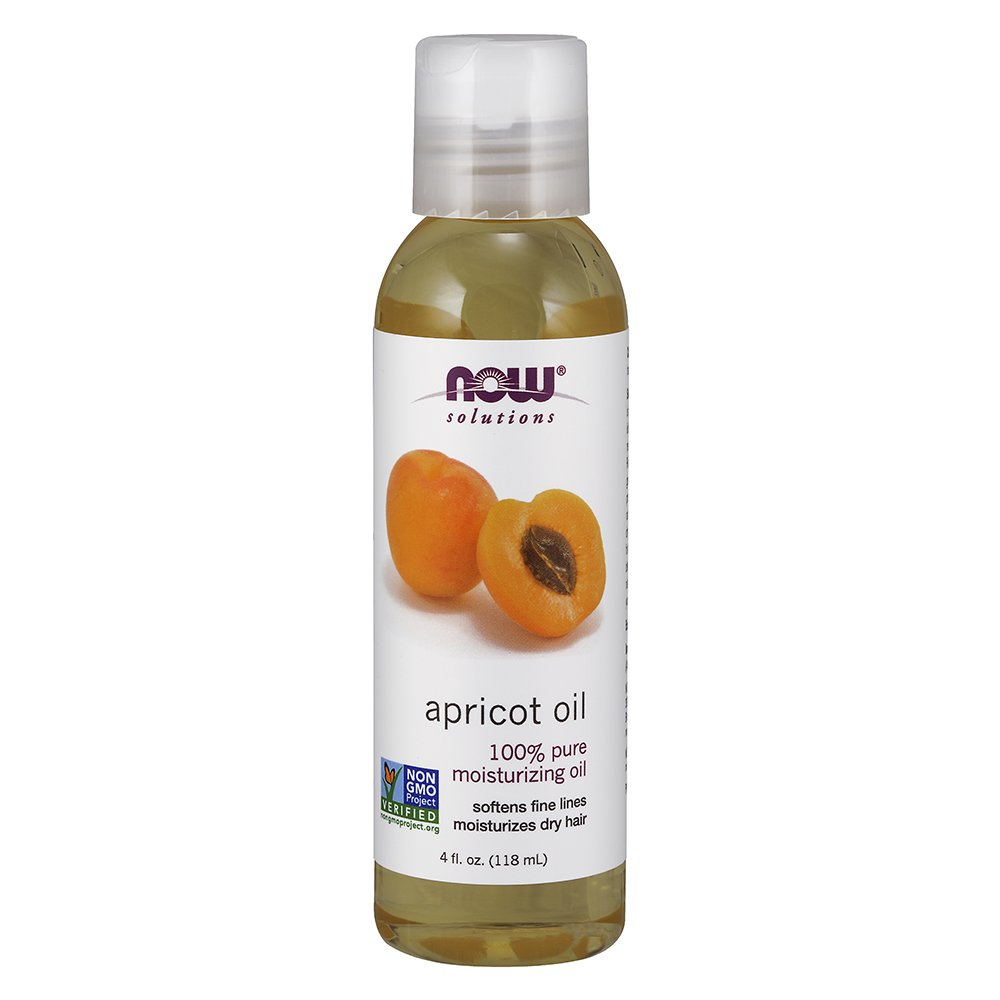 NOW Apricot Kernel Oil, 4-Ounce