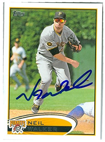 Autograph Warehouse 247220 Neil Walker Autographed Baseball Card - Pittsburgh Pirates 2012 Topps - No. 25