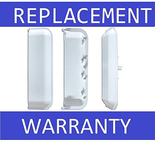 NEW Dryer Door Handle For Whirlpool W10861225, AP999398, PS11731583, W10714516, W10861225VP - 1 YEAR WARRANTY (Co Handle)