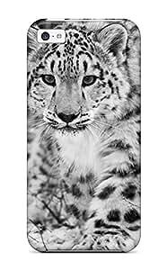 Belva R. Fredette's Shop Hot Fashionable Iphone 5c Case Cover For The Snow Leopard Protective Case 7162797K60883264