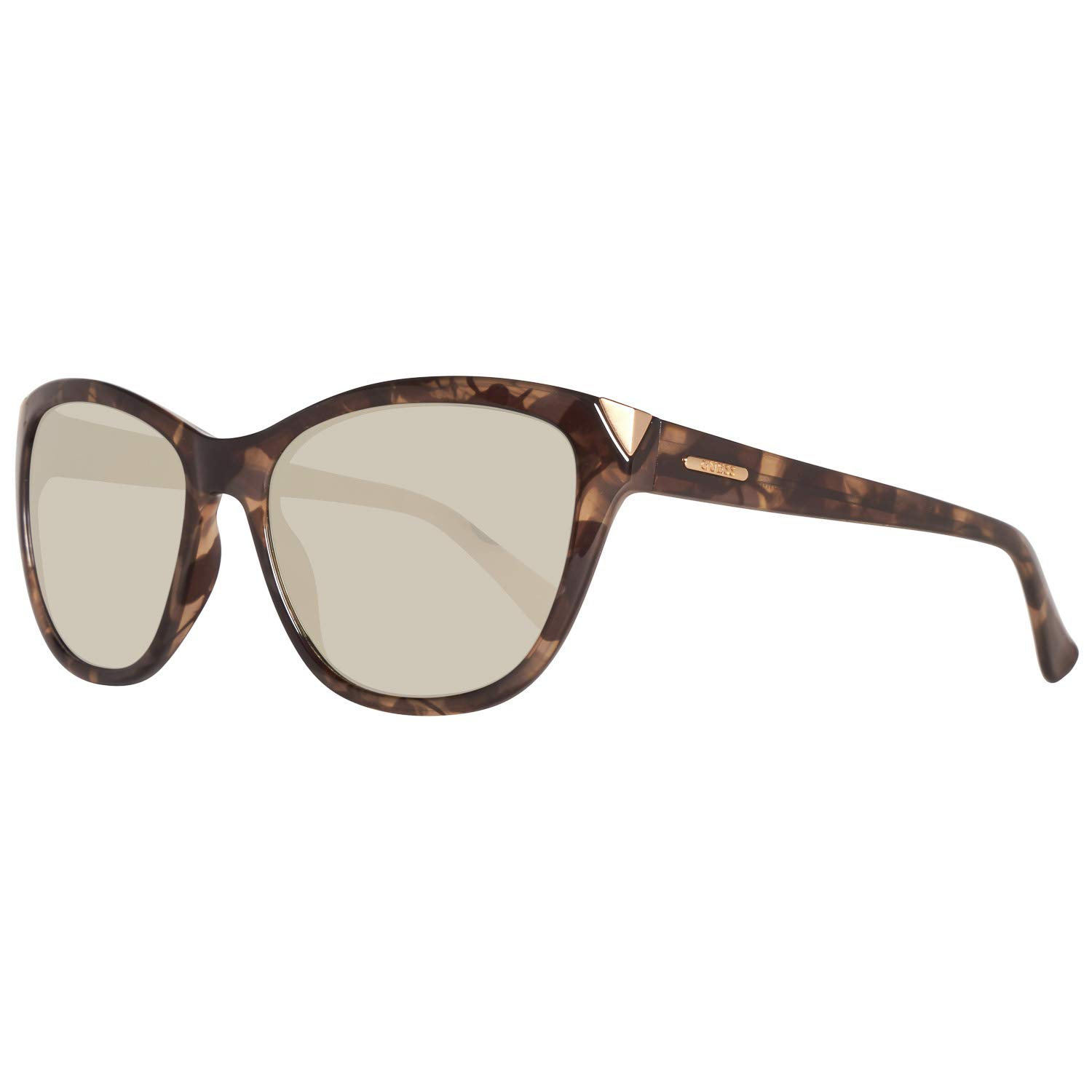 Amazon.com: Guess Natasha Mirrored Cat Eye Sunglasses de la ...
