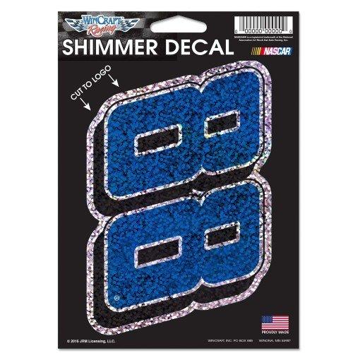 """NASCAR Driver Number 5"""" x 4.5"""" Shimmer Decal (Dale Earnhardt Jr)"""
